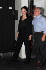 ANGELINA JOLIE Leaves Umeda Sushi Restaurant in Los Angeles 10/23/2017