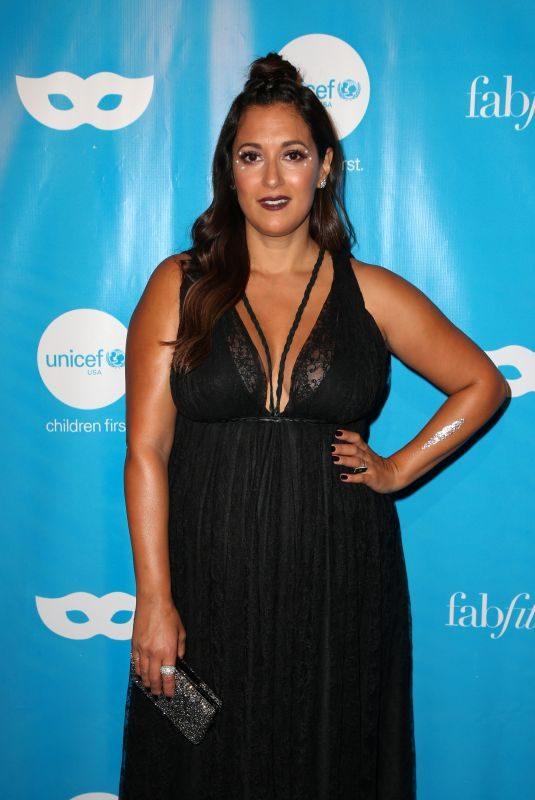 ANGELIQUE CABRAL at Unicef Next Generation Masquerade Ball in Los Angeles 10/27/2017