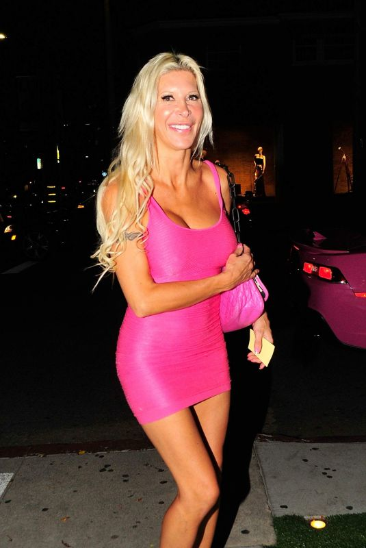 ANGELIQUE FRENCHY MORGAN Night Out in Los Angeles 10/29/2017