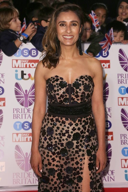 ANITA RANI at Pride of Britain Awards 2017 in London 10/30/2017