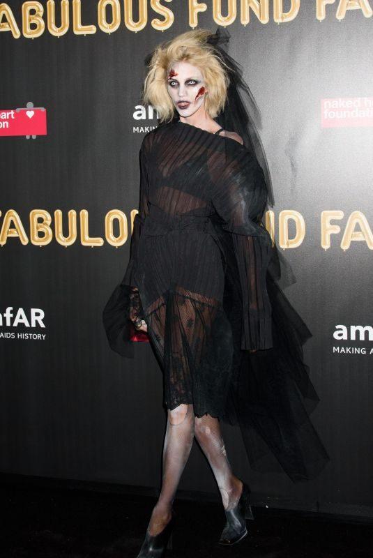 ANJA RUBIK at 2017 Amfar Fabulous Fund Fair in New York 10/28/2017