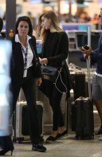 ANN KATHRIN BROMMEL at Airport in Milan 10/08/2017
