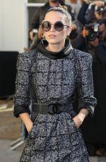 ANNA BREWSTER at Chanel Fashion Show in Paris 10/03/2017