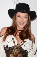 ANNA EASTEDEN at Halloween Hotness 4: Heating Up for the Cure in Hollywood 10/15/2017