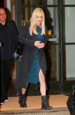 ANNA FARIS Leaves Late Night with Seth Meyers 10/24/2017