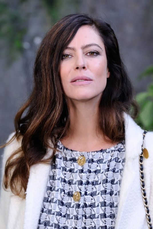 ANNA MOUGLALIS at Chanel Fashion Show in Paris 10/03/2017