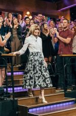 ANNA WINTOUR at Late Late Show with James Corden 10/25/2017