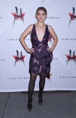 ANNALEIGH ASHFORD at M. Butterfly Broadway Opening Night After-party in New York 10/26/2017