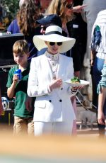 ANNE HATHAWAY on the Set of Nasty Women in Mallorca 10/23/2017
