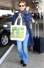 ANNETTE BENING at LAX International Airport in Los Angeles 10/13/2017