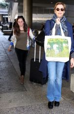ANNETTE BENING at Los Angeles International Airport 10/13/2017