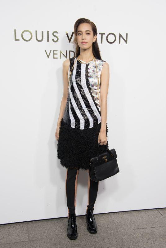 ANNIE CHEN at Louis Vuitton's Boutique Opening at Paris Fashion Week 10/02/2017