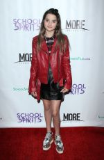 ANNIE LEBLANC at School Spirits Premiere in Los Angeles 10/06/2017
