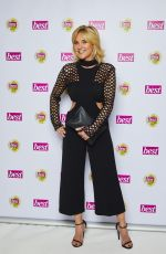 ANTHEA TURNER at Best Heroes Awards in London 10/17/2017
