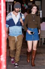 ANYA TAYLOR-JOY and Eoin Macken Out in Philadelphia 10/20/2017