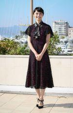 AOI MIYAZAKI at Hokusai No Musume Photocall at Mipcom in Cannes 10/17/2017