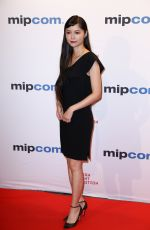 AOI MIYAZAKI at Mipcom Opening Cocktail in Cannes 10/16/2017