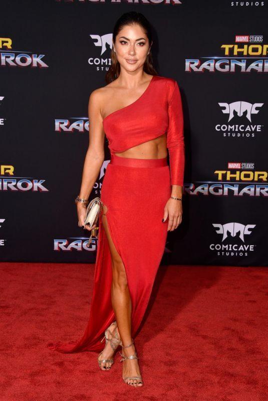 ARIANNY CELESTE at Thor: Ragnarok Premiere in Los Angeles 10/10/2017