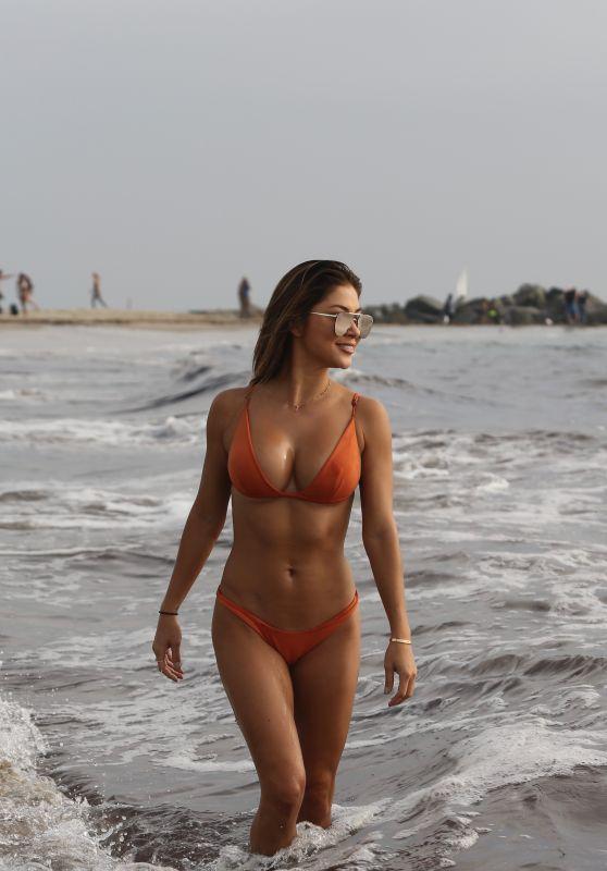 ARIANNY CELESTE in Bikini at Venice Beach 09/30/2017