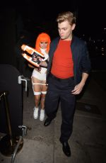 ARIEL WINTER at Halloween Party at Poppy Nightclub in Beverly Hills 10/28/2017