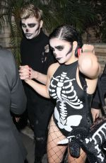 ARIEL WINTER at Just Jared Halloween Party in Los Angeles 10/27/2017