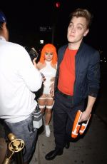 ARIEL WINTER at Matthew Morrison Halloween Party at Poppy Night Club in Hollywood 10/28/2017