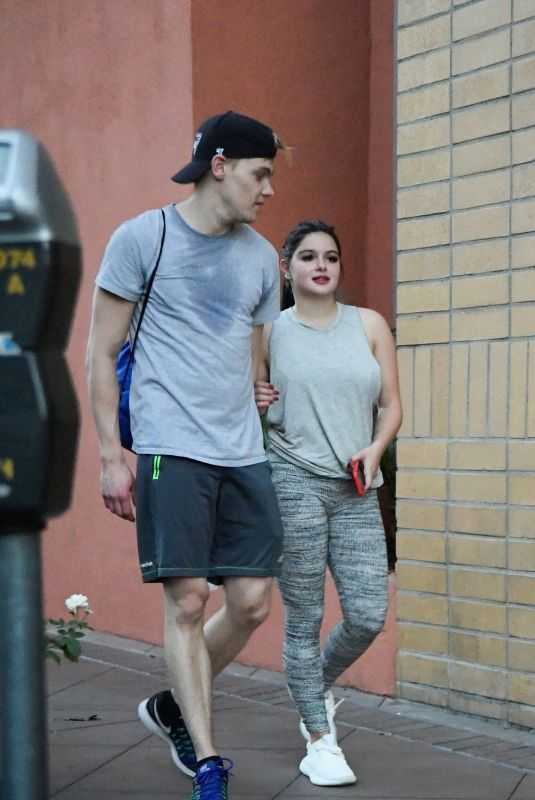 ARIEL WINTER Leaves a Gym in Los Angeles 10/24/2017