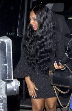 ASHANTI Arrives at Poppy Night Club in West Hollywood 10/20/2017