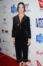 ASHLEIGH BREWER at 6th Annual Australians in Film Award and Benefit Dinner in Los Angeles 10/18/2017