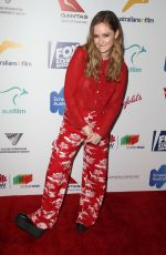 ASHLEIGH CUMMINGS at 6th Annual Australians in Film Award and Benefit Dinner in Los Angeles 10/18/2017