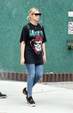 ASHLEY BENSON Out and About in New York 10/15/2017