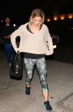 ASHLEY GREENE Out for Dinner at Matsuhisa in Los Angeles 10/09/2017