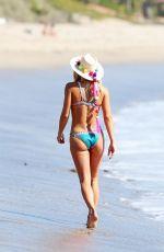 ASHLEY HART in Bikini at a Beach in Malibu 10/26/2017