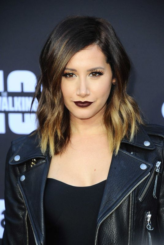 ASHLEY TISDALE at The Walking Dead, Season 8 Premiere in Los Angeles 10/22/2017