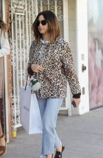 ASHLEY TISDALE Shopping at Revolve Store in West Hollywood 10/11/2017