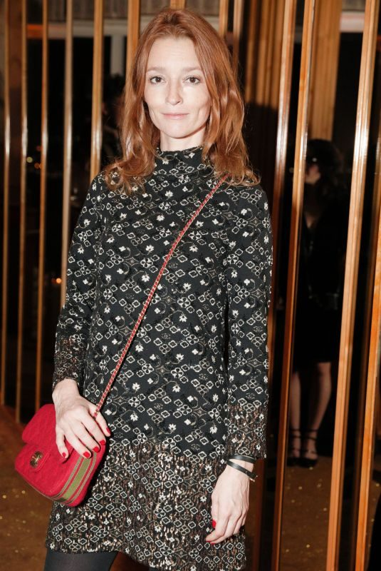 AUDREY MARNAY at V Magazine Dinner in Honor of Karl Lagerfeld in New York 10/23/2017