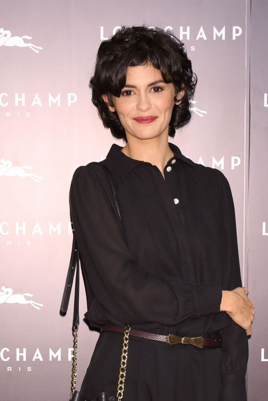 AUDREY TAUTOU at Longchamp LA Maison Omotesando Store Opening in Tokyo 10/19/2017