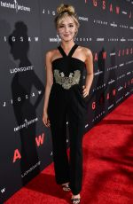 AUDREY WHITBY at Jigsaw Premiere in Los Angeles 10/25/2017