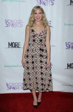 AUDREY WHITBY at School Spirits Premiere in Los Angeles 10/06/2017