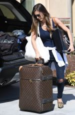 AUDRINA PATRIDGE Arrives at Her Home in Los Angeles 10/14/2017