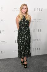 AVA PHILLIPPE at Elle Women in Hollywood Awards in Los Angeles 10/16/2017