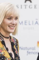 BARBARA CRAMPTON at Black Hollow Cage Photocall at 50th Sitges Film Festival 10/09/2017