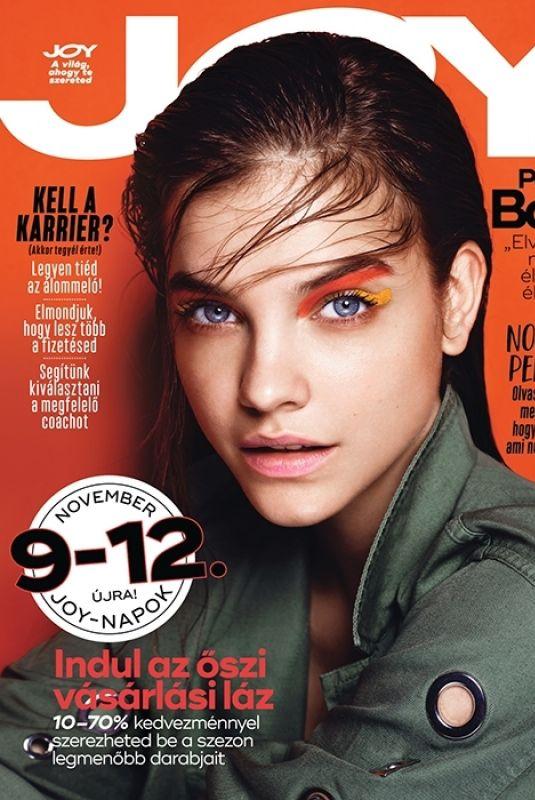 BARBARA PALVIN on the Cover of Joy Magazine, Hungary November 2017