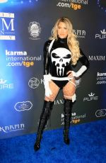 BARBIE BLANK (KELLY KELLY) at 2017 Maxim Halloween Party in Los Angeles 10/21/2017