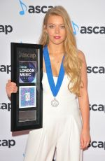 BECKY HILL at Ascap Awards in London 10/16/2017