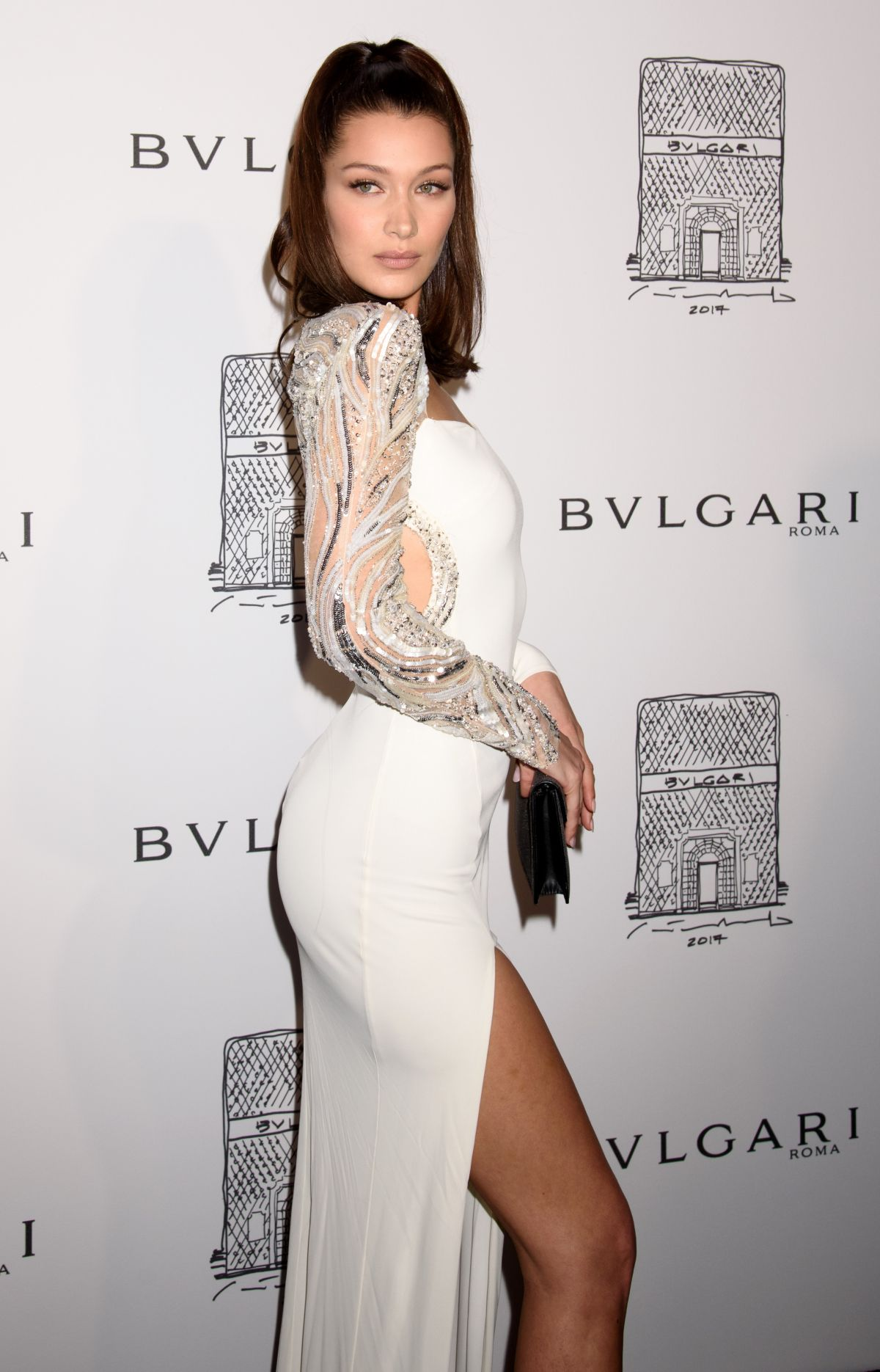 e00491a703e BELL A HADID at Bulgari Celebrates 5th Avenue Flagship Store Opening in New  York 10