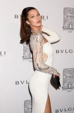 BELL A HADID at Bulgari Celebrates 5th Avenue Flagship Store Opening in New York 10/20/2017