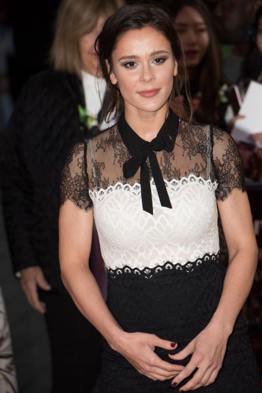 BELLA DAYNE at Breathe Premiere at BFI London Film Festival 10/04/2017