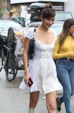 BELLA HADID Out and About in New York 10/09/2017