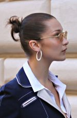 BELLA HADID Out and About in Rome 10/26/2017